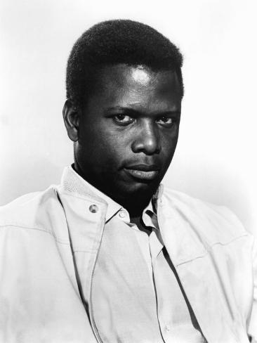 A Patch of Blue, Sidney Poitier, 1965 Photo