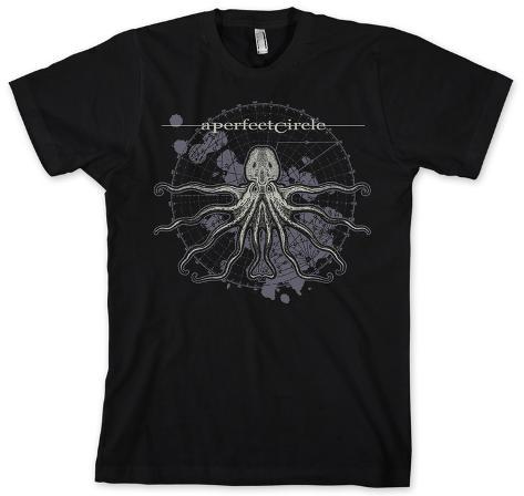 A Perfect Circle - Black Octo Diagram T-Shirt