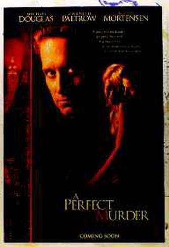 A Perfect Murder Original Poster