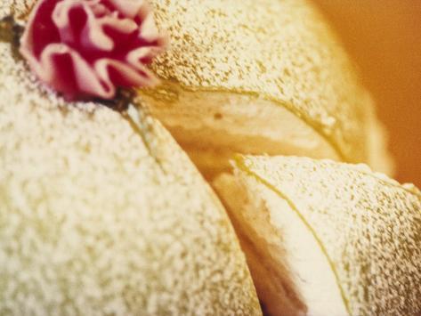 A Piece of Princess Cake, Sweden Photographic Print