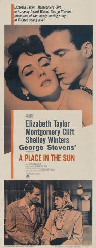 A Place in the Sun Poster