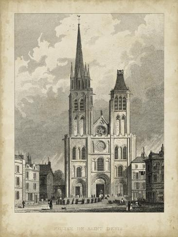 Eglise de St. Denis Art Print
