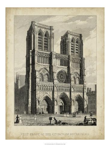 West Front-Notre Dame Art Print