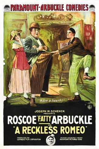 A Reckless Romeo Art Print