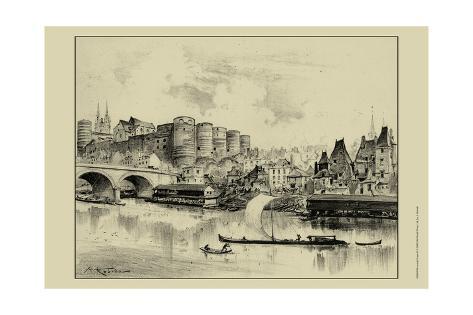 Riverside Estate II Art Print