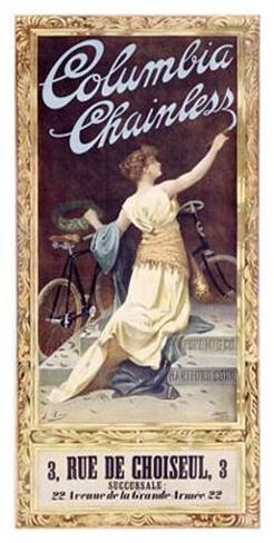 Columbia Chainless Giclee Print