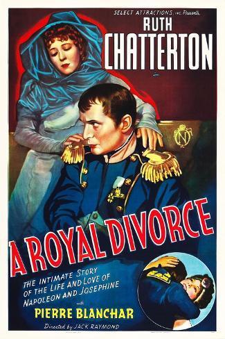 A ROYAL DIVORCE Art Print
