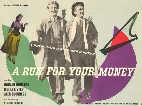A Run for Your Money Art Print