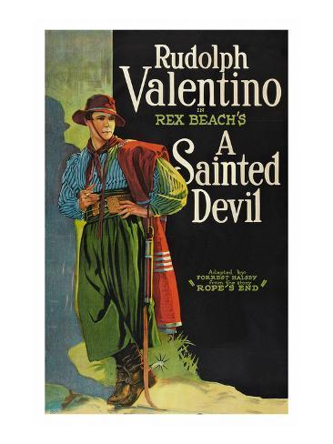 A Sainted Devil Art Print
