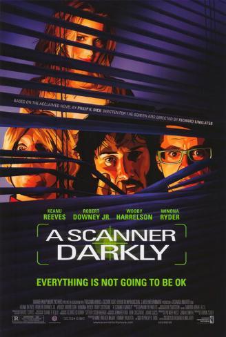 A Scanner Darkly Lámina maestra
