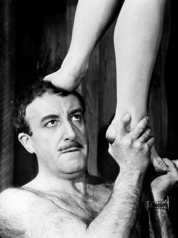 A Shot in the Dark, Peter Sellers, 1964 写真