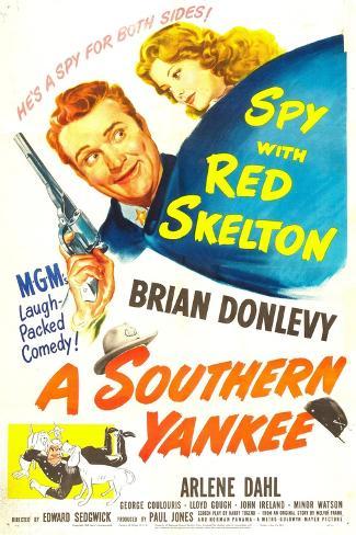 A Southern Yankee Lámina