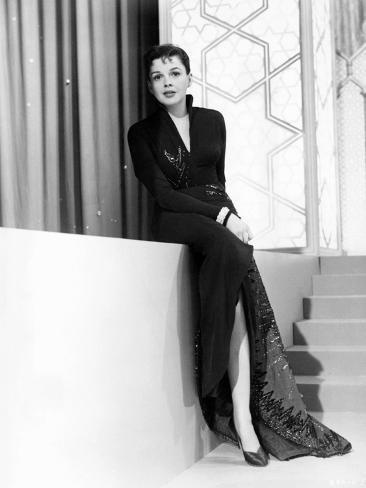 A Star Is Born, Judy Garland, 1954 Fotografía