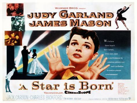 A Star Is Born, Judy Garland, 1954 Print - AllPosters.co.uk