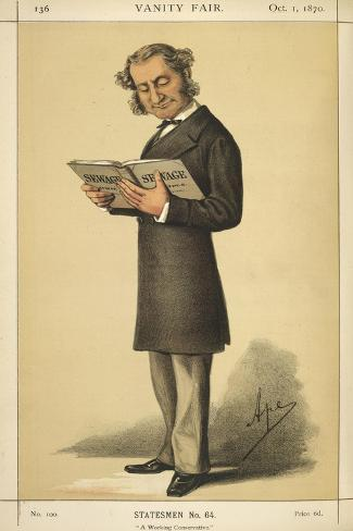 A Statesman Stampa giclée