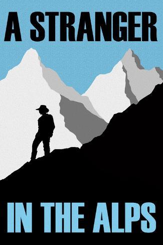 A Stranger In the Alps Movie Art Print