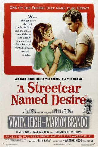 A Streetcar Named Desire, 1951, Directed by Elia Kazan Giclee Print
