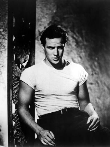 A Streetcar Named Desire, Marlon Brando, 1951 Photo
