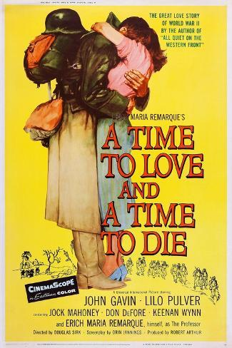 A Time to Love and a Time to Die Art Print