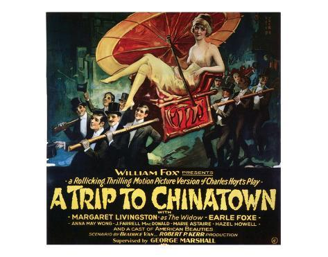 A Trip To Chinatown - 1926 Giclee Print