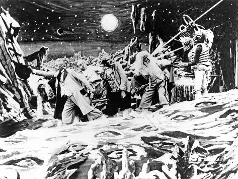 A Trip To The Moon, (AKA Le Voyage Dans La Lune), 1902 Photo