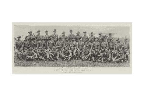 A Troop of Natal Carbineers Giclee Print