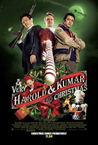A Very Harold and Kumar Christmas Double-sided poster