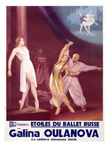 Etoiles du Ballet Russe Giclee Print