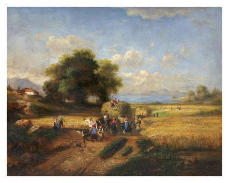 Harvest Celebration Art Print