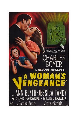 A Woman's Vengeance Giclee Print