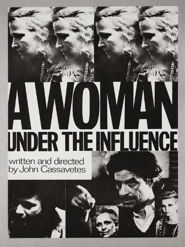 A Woman under the Influence, 1974 Giclee Print