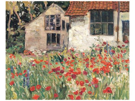 Studio at Etaples Premium Giclee Print