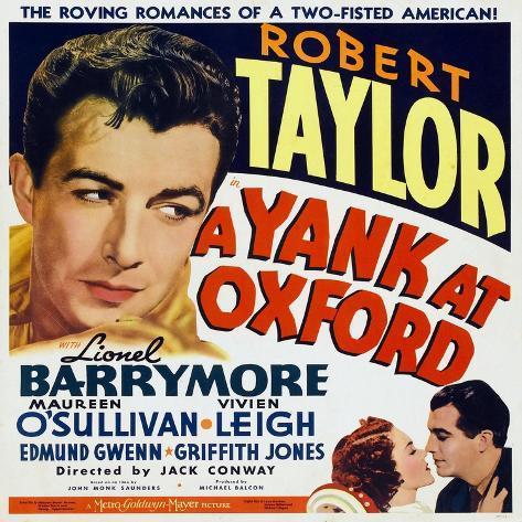A Yank at Oxford, 1938 Gicléetryck