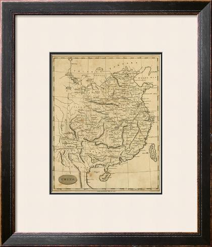China, c.1812 Framed Giclee Print