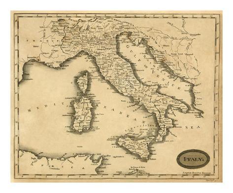 Italy, c.1812 Art Print
