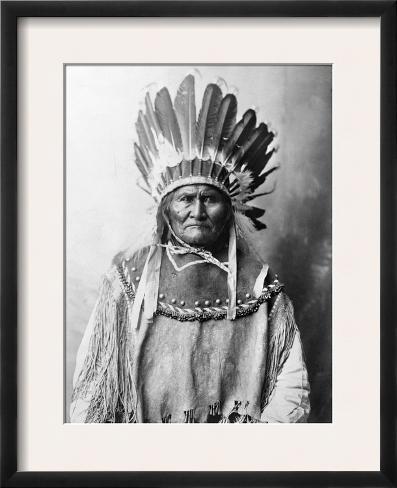 Geronimo (1829-1909) Framed Photographic Print