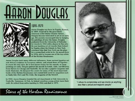 Aaron Douglas Art Print