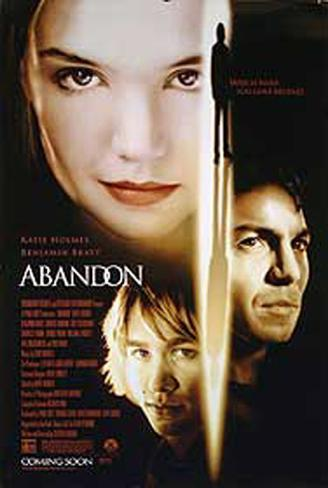 Abandon Double-sided poster
