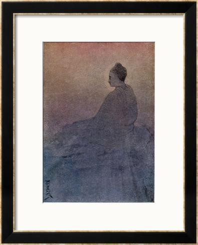 The Victory of Buddha Framed Giclee Print