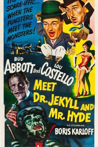 Abbott and Costello Meet Dr. Jekyll and Mr. Hyde Impressão artística
