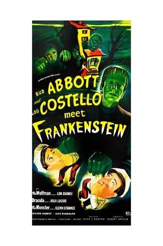 Abbott and Costello Meet Frankenstein, (AKA Bud Abbott and Lou Costello Meet Frankenstein) Lámina