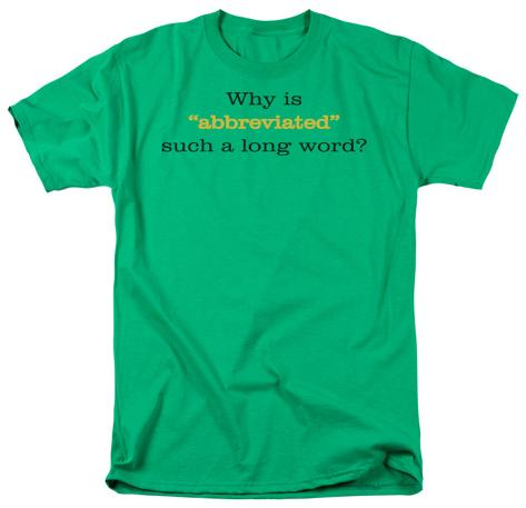 Abbrviated T-Shirt