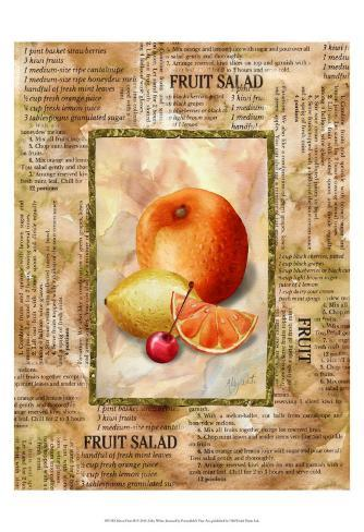 Mixed Fruit II Art Print