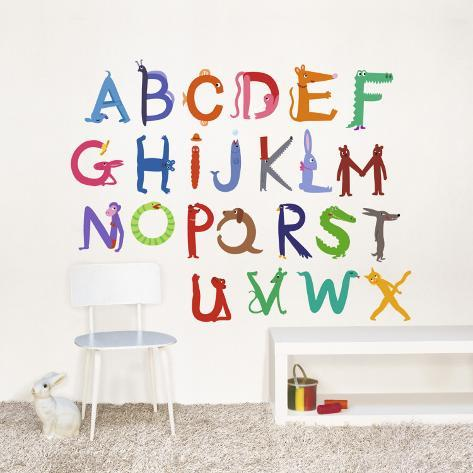 Abecedary Wall Decal