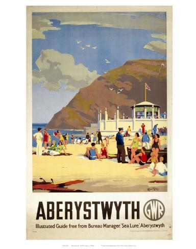 Aberystwyth Beach Posters - AllPosters.co.uk