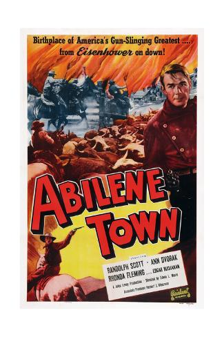 Abilene Town Giclee Print