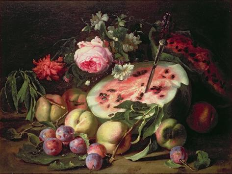 Still Life with a Water Melon Giclée-vedos
