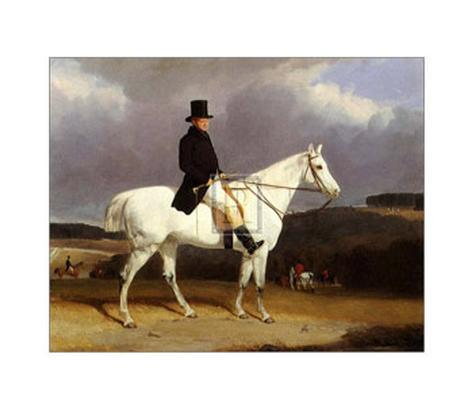 Hunting Scene in the Counties Art Print