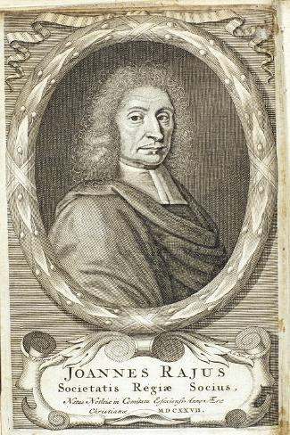 John Ray English Naturalist 1680S Giclee Print