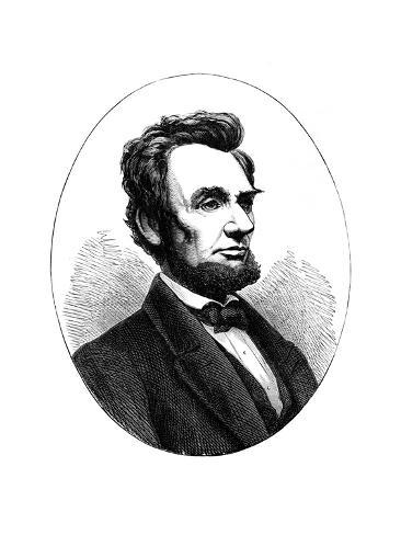 Abraham Lincoln (1809-186), US President Giclee Print